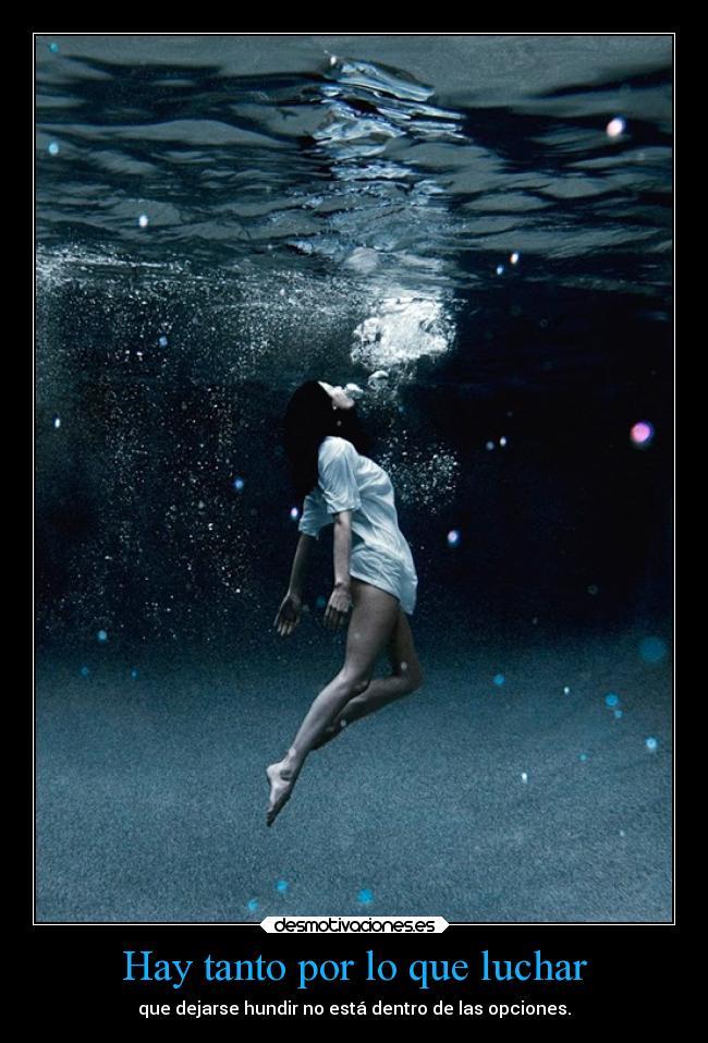 Im genes y carteles de nadar desmotivaciones for Nadar contra la corriente