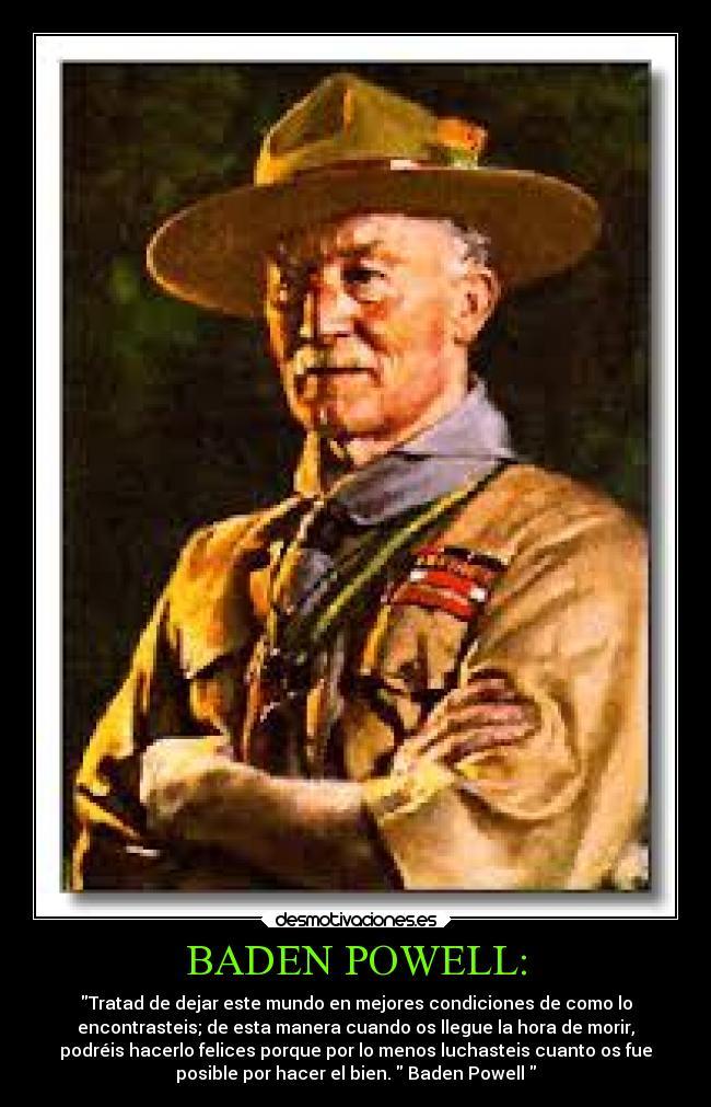 Baden Powell Desmotivaciones