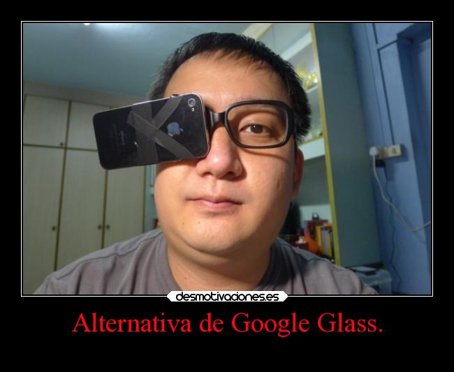 Alternativa de Google Glass. -