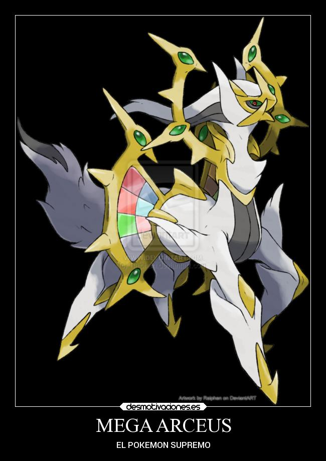 Back > Gallery For > Mega Arceus