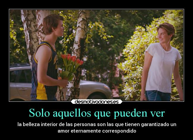 carteles amor the fault our stars theuglytruth desmotivaciones