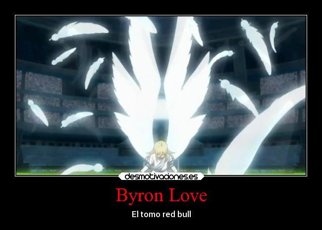 Byron Love - El tomo red bull