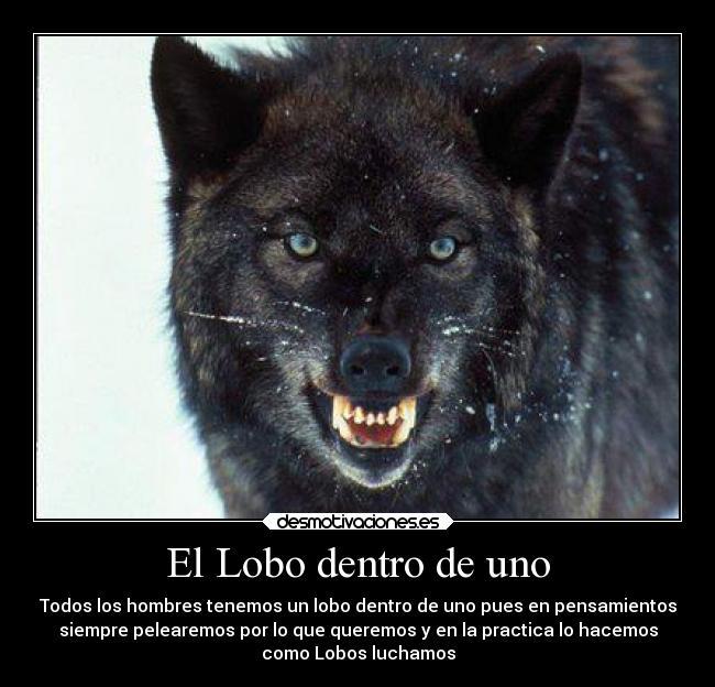 El Lobo Dentro De Uno Desmotivaciones