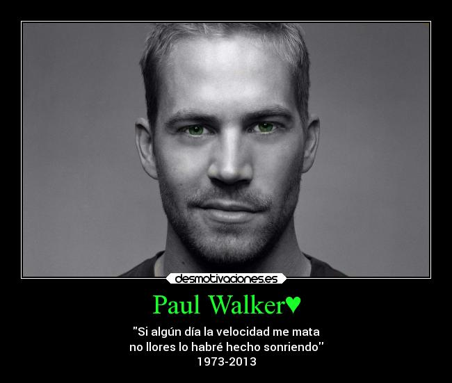 frases de paul walker