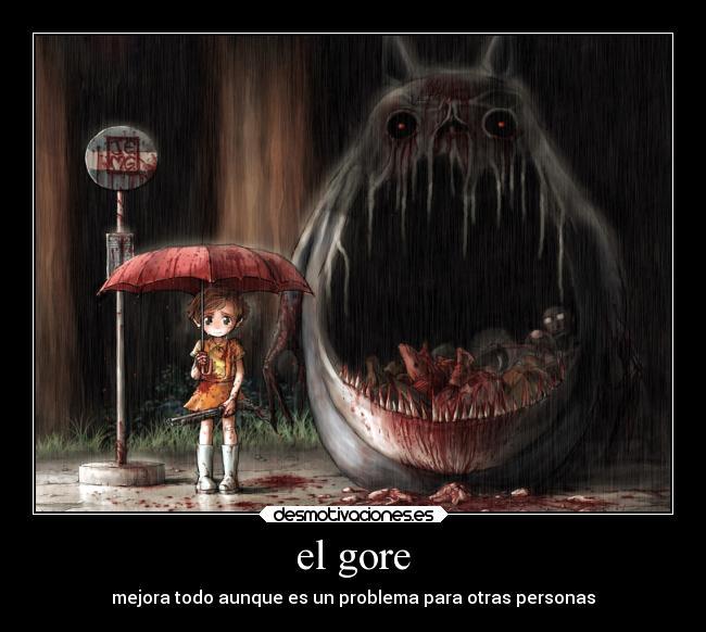 El gore desmotivaciones for Imagenes de anime gore