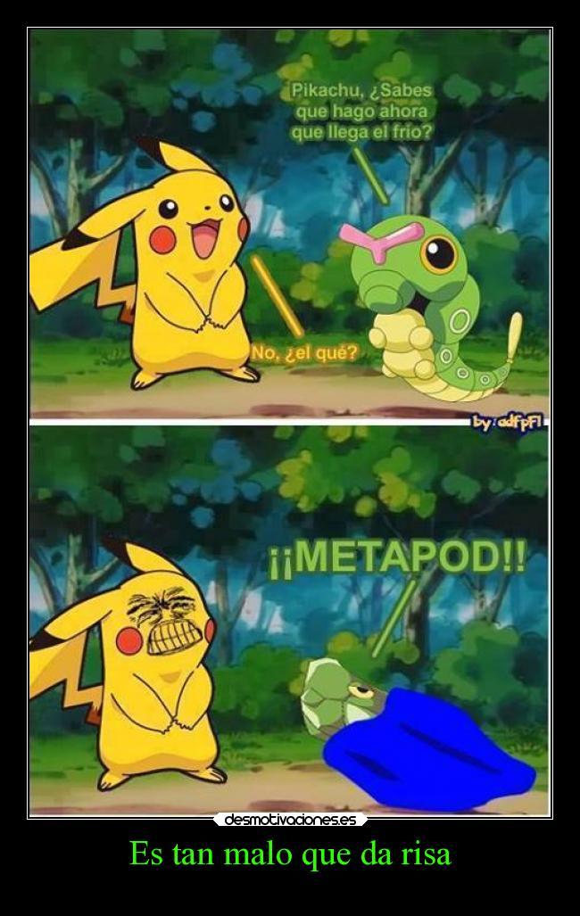 Resultado de imagen de chiste malo de pokemon