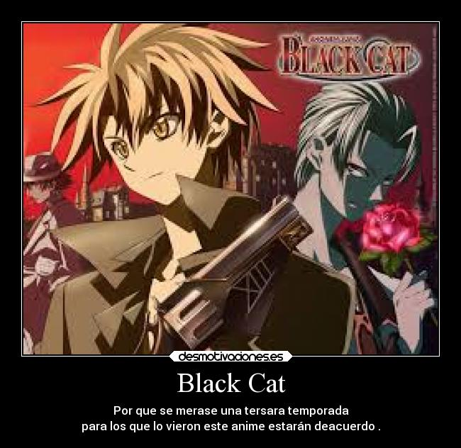 Black Cat Desmotivaciones