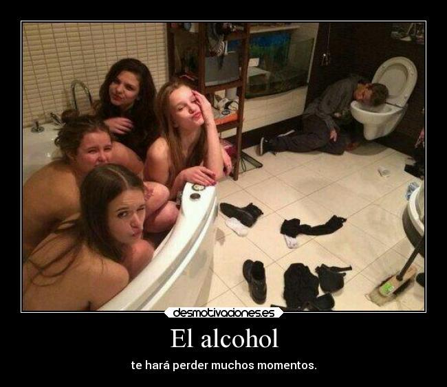 Come togliere un appezzamento di alcolismo