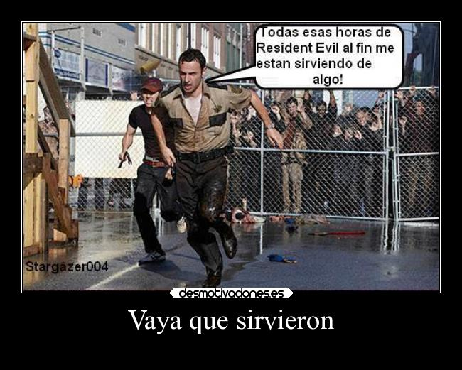 carteles humor graciosas risa twk the walking dead thewalkingdead resident evil residentevil zombies desmotivaciones