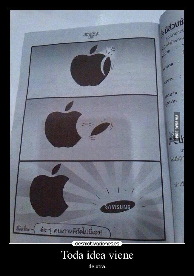 carteles ideas samsung apple idea lolsomething desmotivaciones