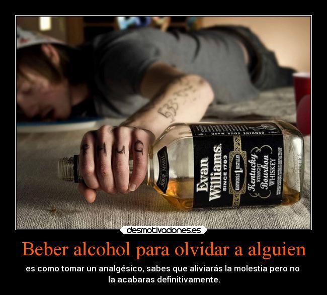 Cuando sale el alcohol después de la dipsomanía