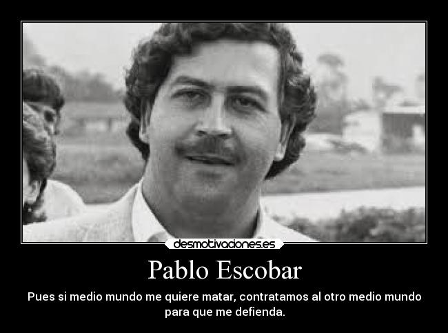 Una entrevista con Juan Pablo Escobar, el hijo del narco