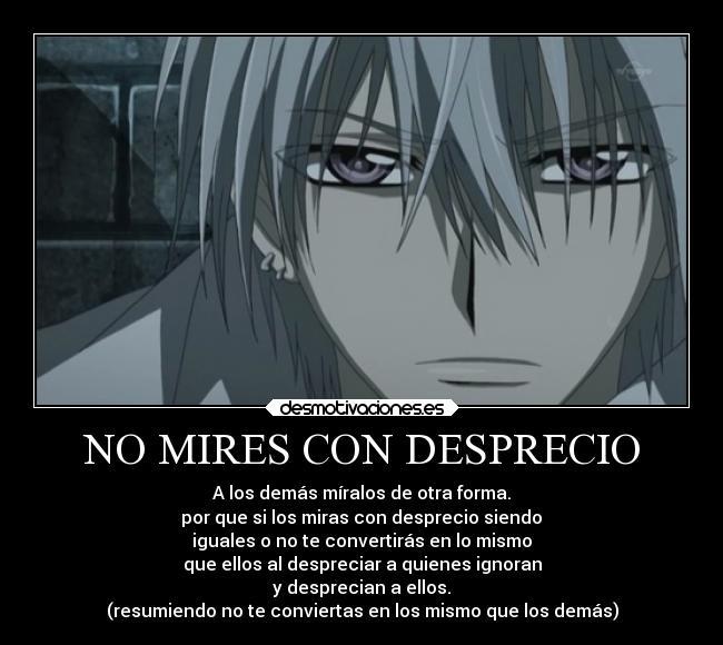 Zero Vampire Knight NO MIRES CON DESPRECIO...