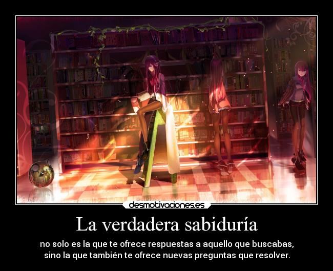 carteles anime dificil entender steins gate makise kurisu harukaze gotian raptorhunters kirch theinmortals desmotivaciones