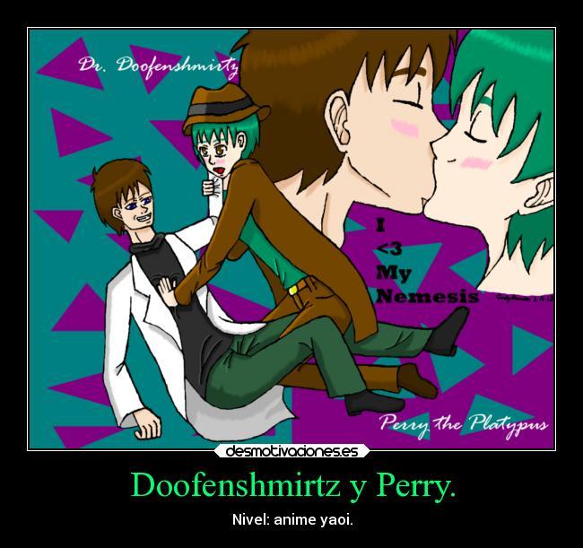 Doofenshmirtz y Perry. | Desmotivaciones