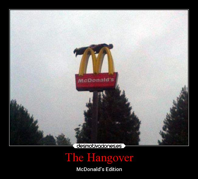 The Hangover - McDonalds Edition