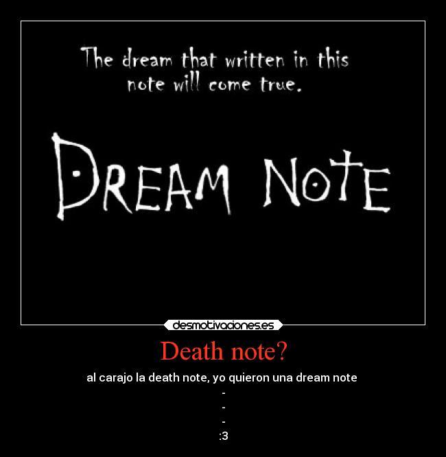 Dream Note [2/2] MEGA