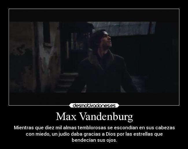 Max Vandenburg Desmotivaciones