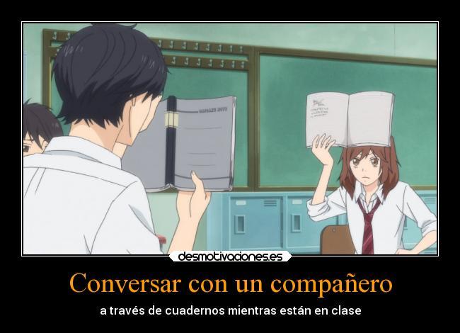 Conversar Con Un Compañero