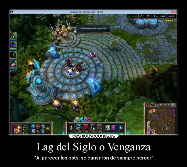 carteles internet leagueoflegends desmotivaciones