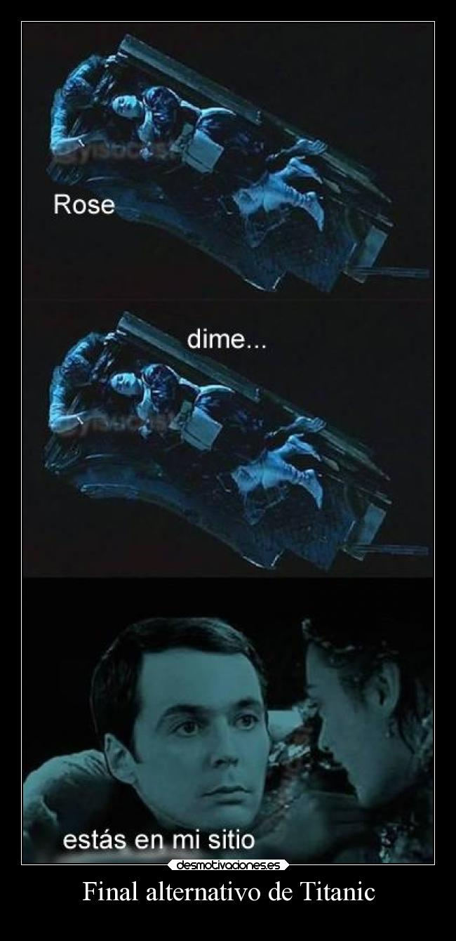 Final alternativo de Titanic -