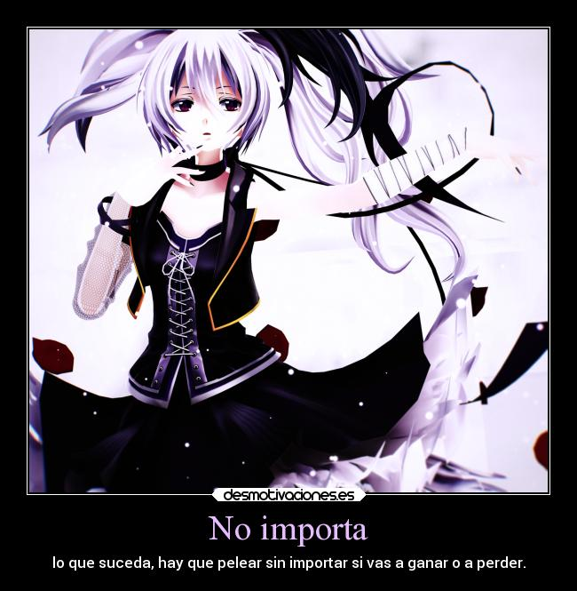 carteles anime flower vflower vocaloid desmotivaciones