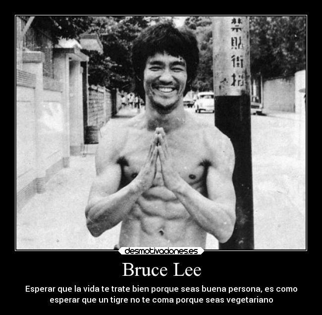 Bruce Lee Desmotivaciones