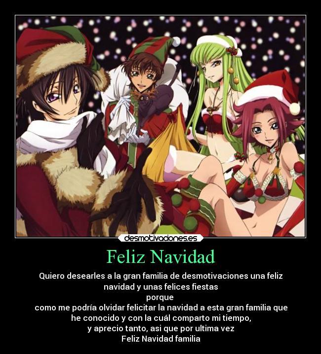 Felicitaciones De Navidad Anime.Imagenes Y Carteles De Anime Pag 6782 Desmotivaciones