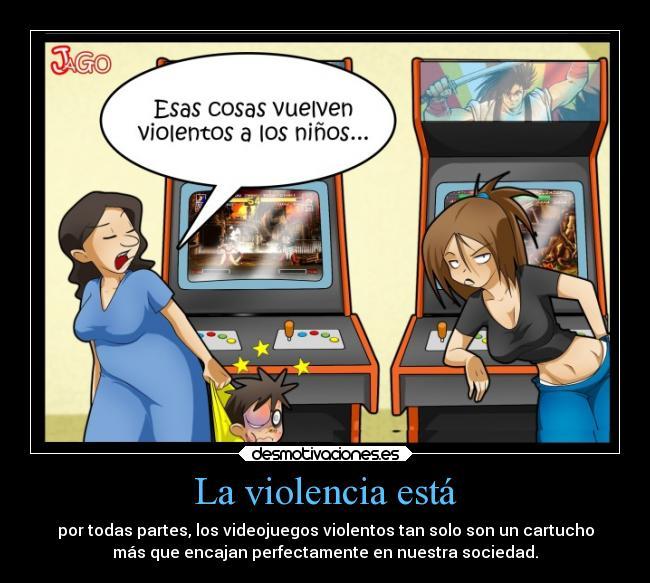 Videojuegos de violencia adolescente