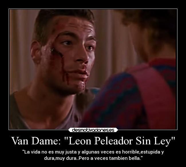 Van Dame Leon Peleador Sin Ley Desmotivaciones