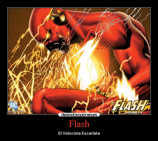 Flash - El Velocista Escarlata