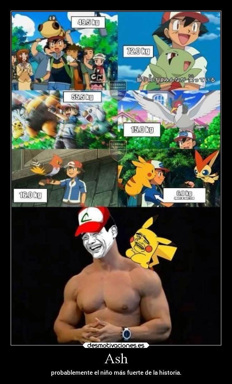 Carteles Memes Humor Vida Pokemon Ash Laurasimpson11 Desmotivaciones