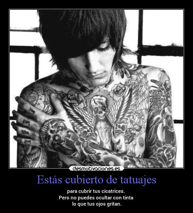 carteles tatuajes soledad desmotivaciones