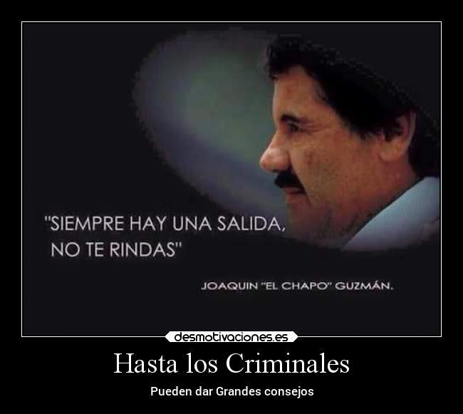 Hasta Los Criminales Desmotivaciones