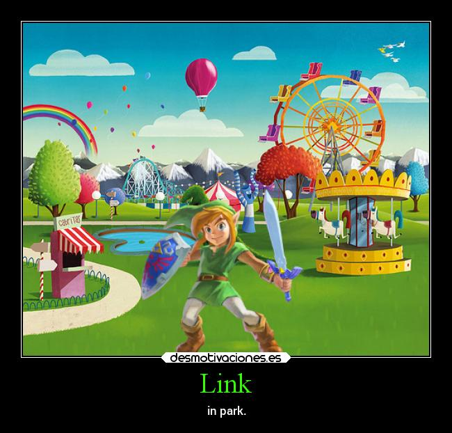 Link - in park.