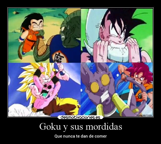 carteles anime dragon ball super goku bills freezer majin boo pikoro desmotivaciones