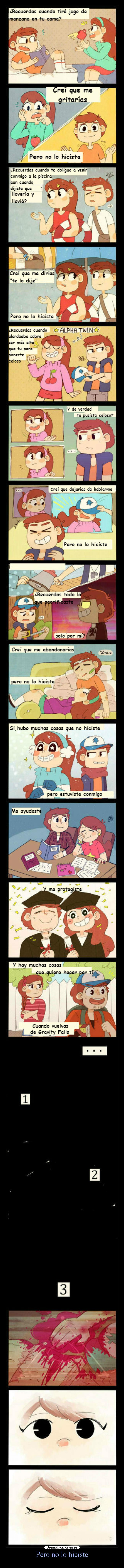 carteles amor hermanos dipper mabel dipperpines mabelpines gravity falls gravityfalls hiciste desmotivaciones