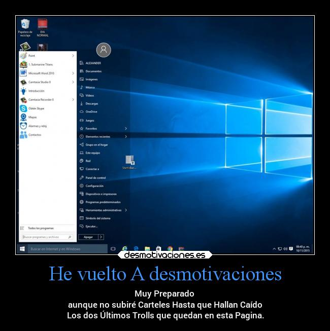 carteles desmotivaciones desmotivaciones vida windows windows10 recargado alex vazquez999 desmotivaciones