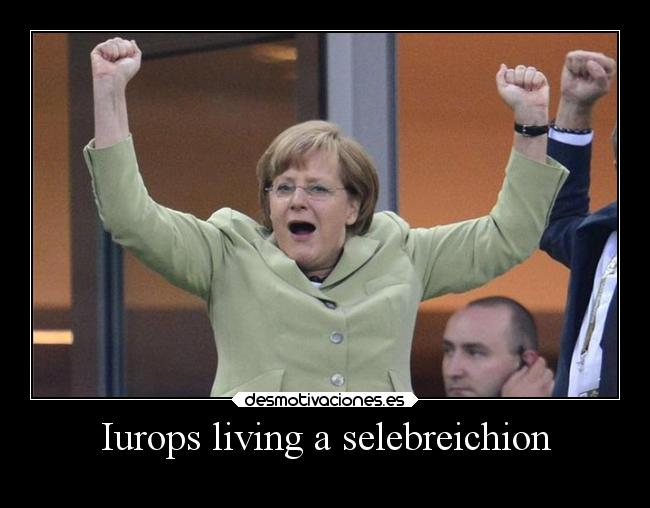 Iurops living a selebreichion -
