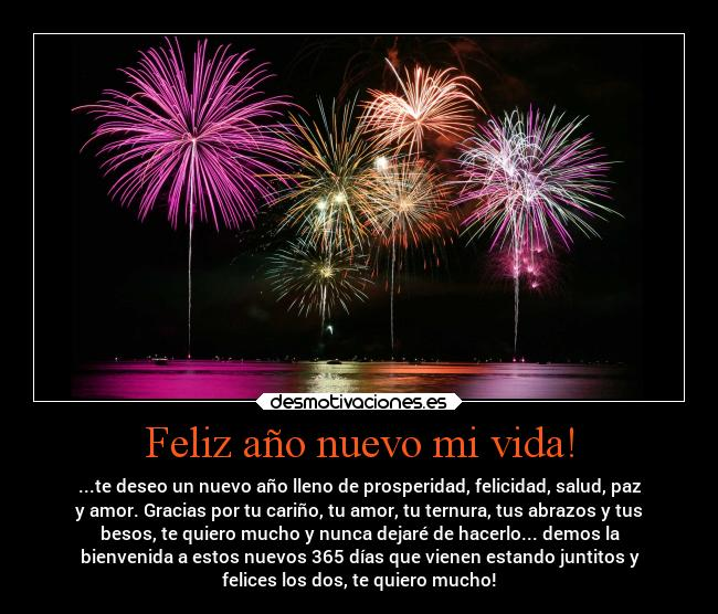 Feliz año nuevo con movimiento 3