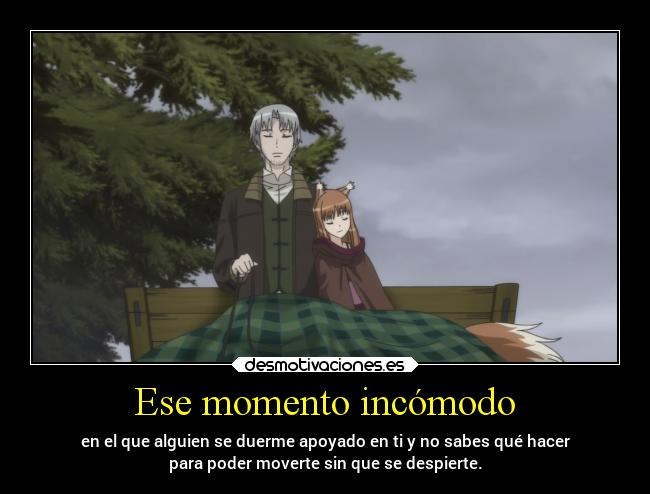 carteles anime spice and wolf gotian horo orion sequetegusta desmotivaciones