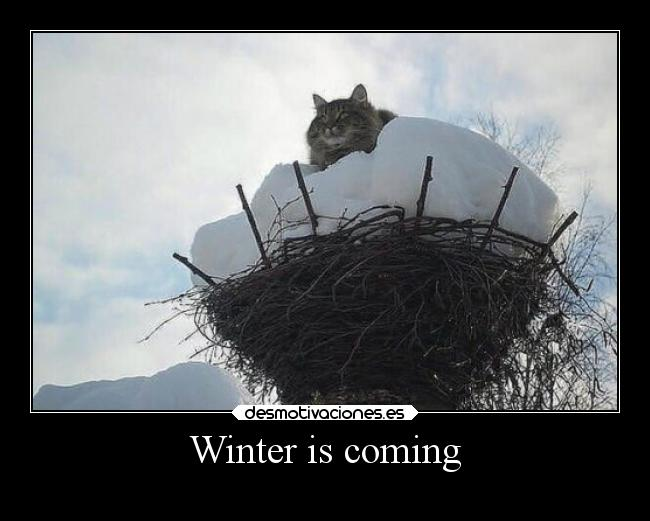 Winter is coming -