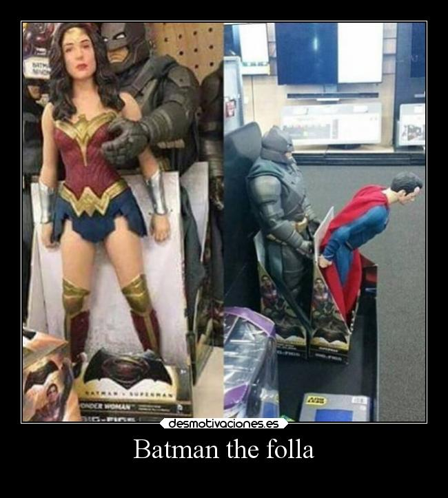 Batman the folla -