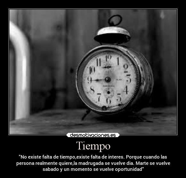 Tiempo Desmotivaciones