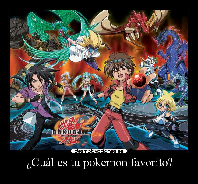 ¿Cuál es tu pokemon favorito? -