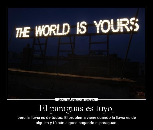 El mundo es tuyo porno