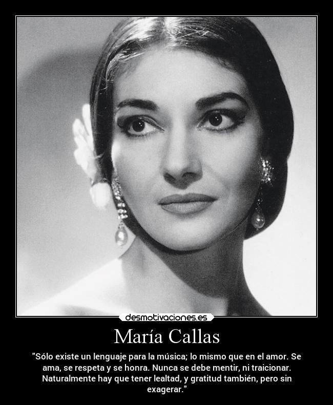 María Callas Desmotivaciones