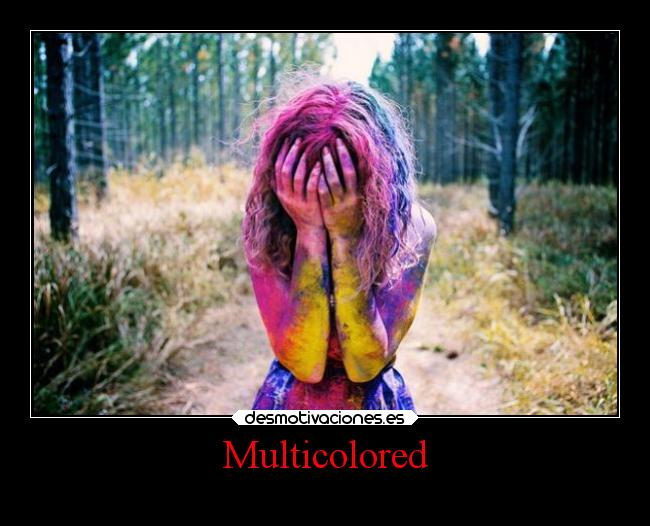 Multicolored -