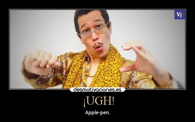 ¡UGH! - Apple-pen.