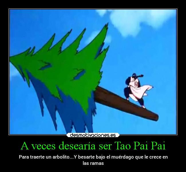 A Veces Desearía Ser Tao Pai Pai Desmotivaciones